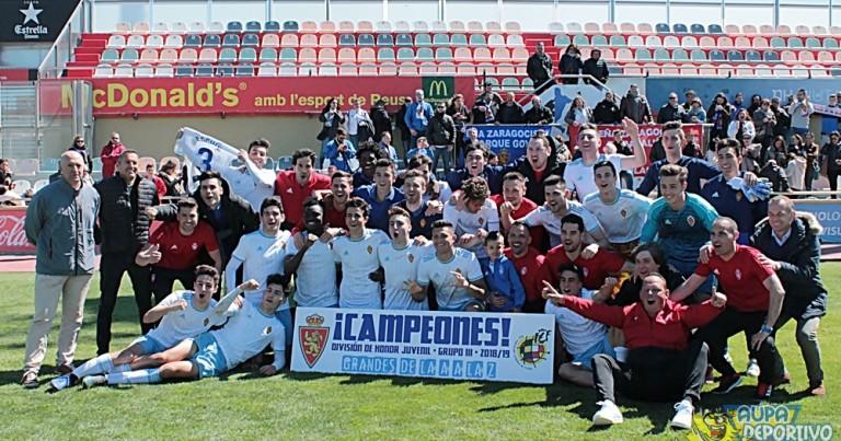 2019, un año de ensueño para el Juvenil del Real Zaragoza