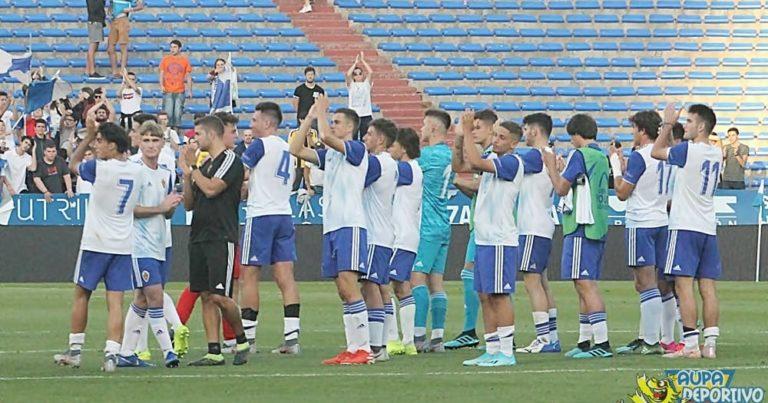 UEFA Youth League | Crónica | Continúa el sueño europeo del Real Zaragoza