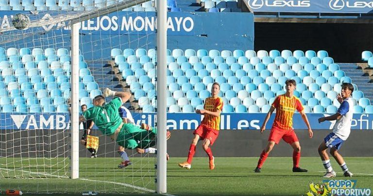 UEFA Youth League | Crónica | Debut con victoria en una tarde histórica en La Romareda